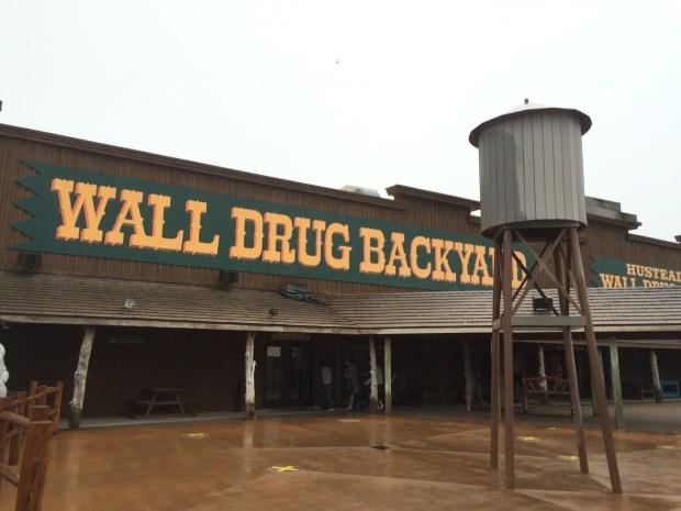 wall drug backyard