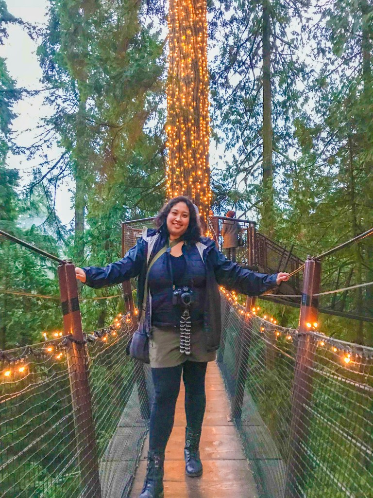 The only country I traveled to in 2017 was Canada (Capilano Treetrop Adventure in Vancouver pictured above), so this year I'm making it a point to visit more places!