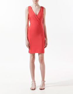 vestido-corto-rojo-zara-para-ir-a-trabajar