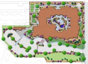 Assisted Living Memory Care Landscape Concept Plan