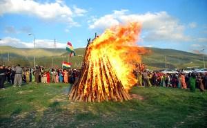 Kurds Celebrate Newroz