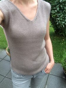 LOTILDA Selfie Streifenpulli