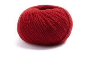 "Lamana ""Bergamo"" Wolle in karmin"
