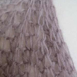 LOTILDA BRITT-Cardigan Zunahme Halbpatent