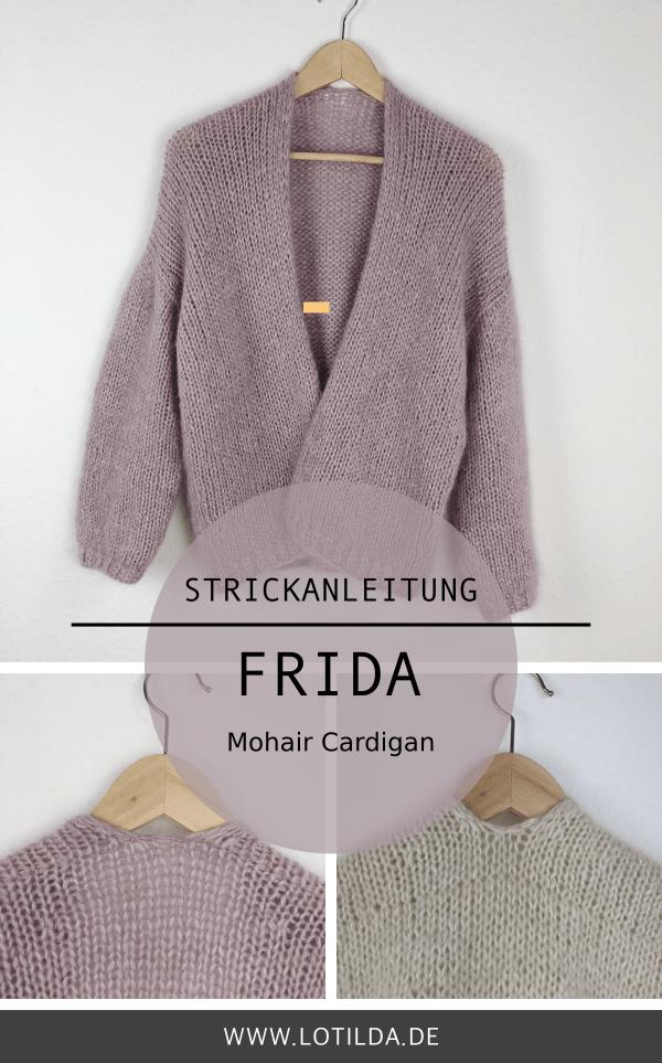 LOTILDA - Anleitung FRIDA Mohair Cardigan