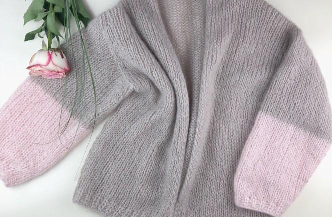 LOTTA aus Sandnes mit rosa Ärmeln