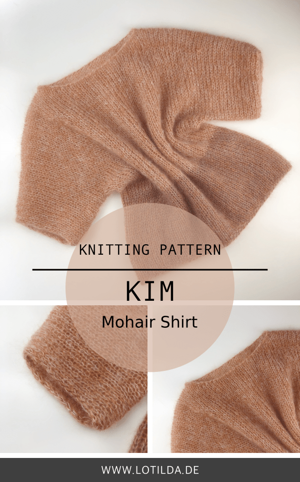 LOTILDA - KIM Shirt - Knitting Shirt
