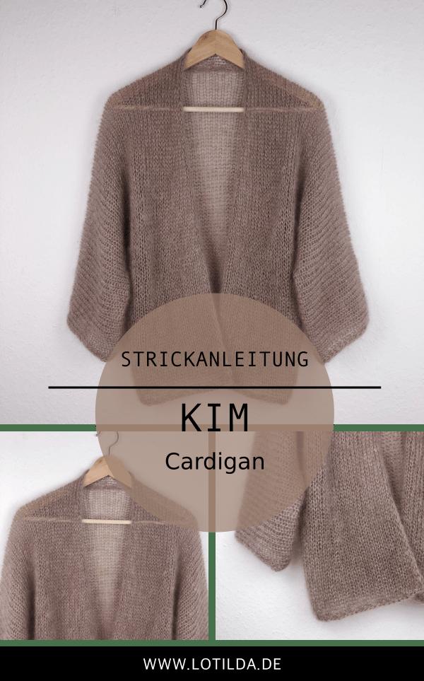 LOTILDA - Kim Cardigan - Luftige Sommer Strickjacke stricken