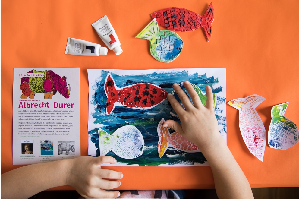 Perfect Print art and craft box for children