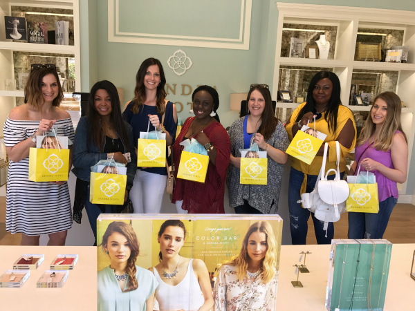 Style Collective- Kendra Scott- Color Bar meet-up