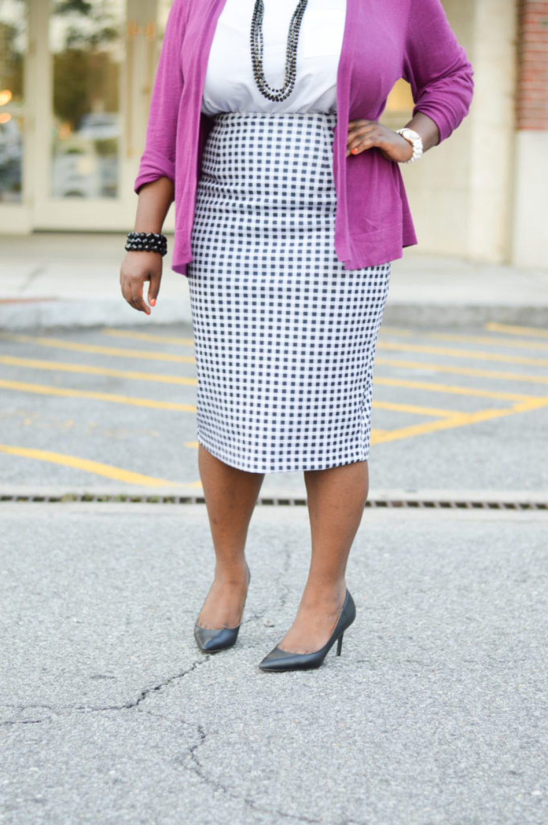 Styling Gingham print - Work wear for her