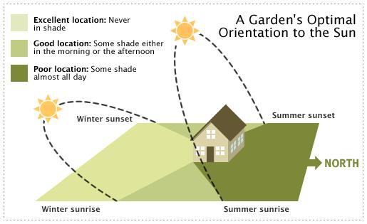 Graphic of sun exposure
