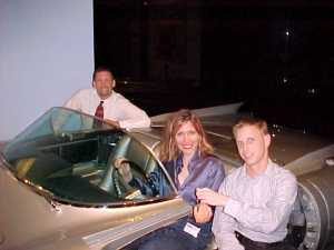 On the Town with Jeff Stork, the Cadilllac and Mitch