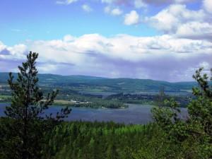 View over Veckefjärden