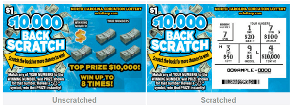 Back Scratch lotto- $1