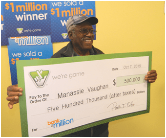 Bank a Million Prize Winner