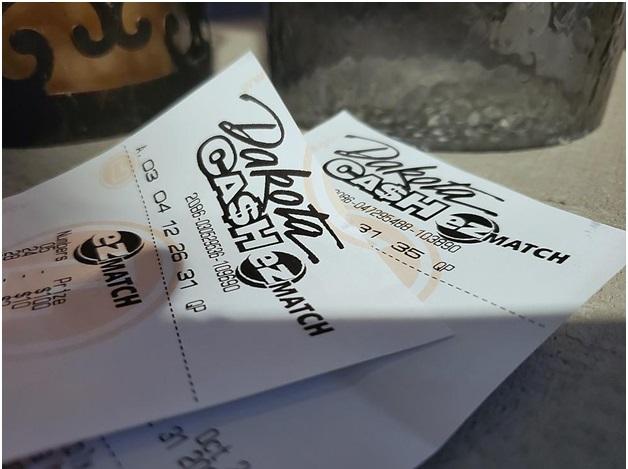Dakota Cash EZ Match ticket