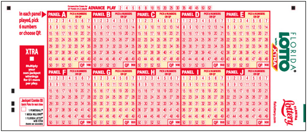 florida lotto with xtra past numbers