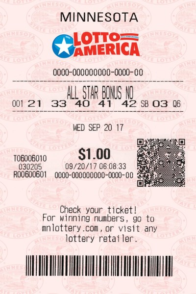 Lotto America Ticket
