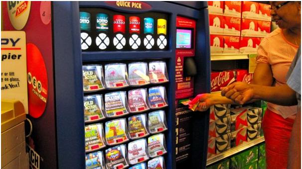 Lotto machines in USA