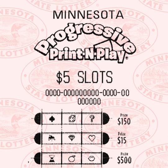 $1- $5 Slots Print and Play
