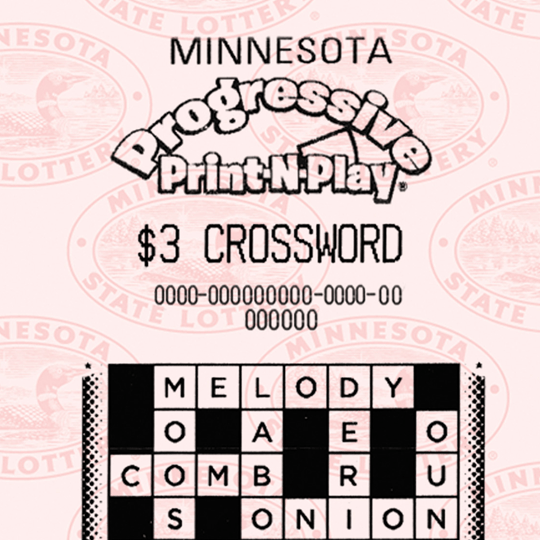 $1- $5 Crosswords Print and Play