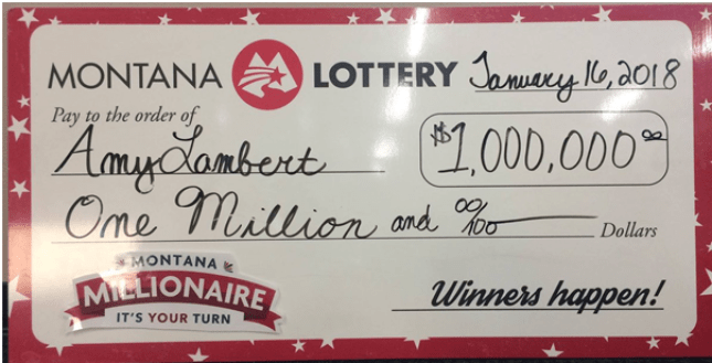 Montana Lotteries winner