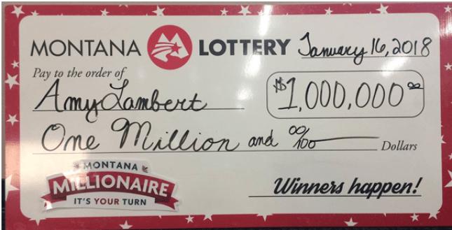 Montana Lotteries winner