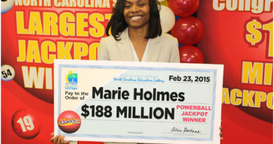 Powerball WIns