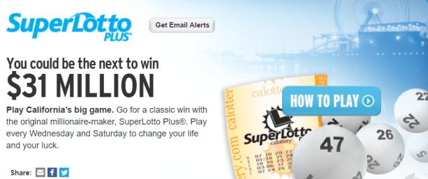 Super lotto odds