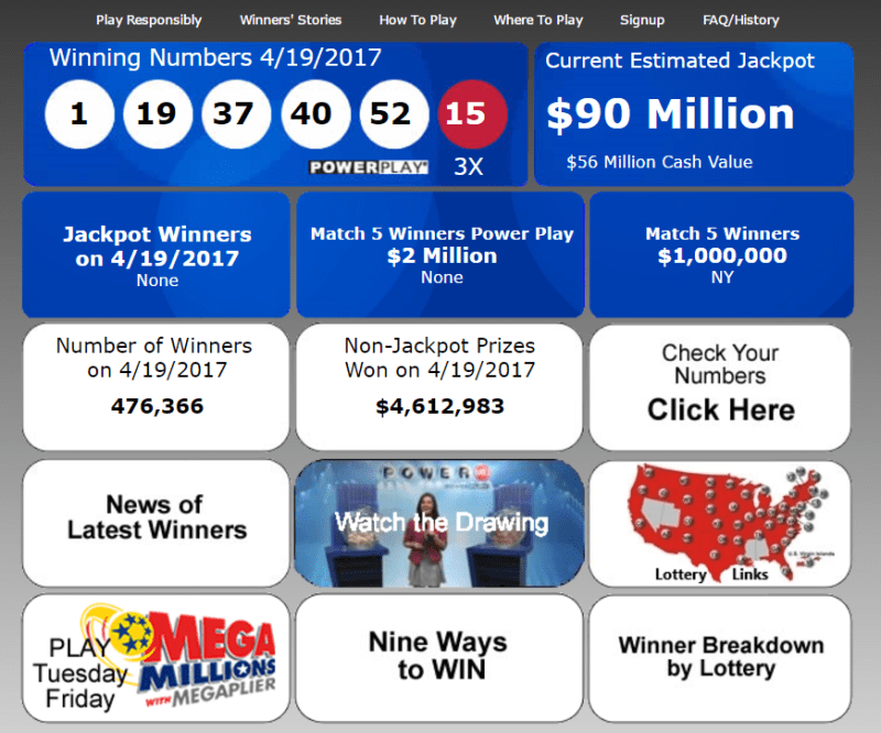 US lotto