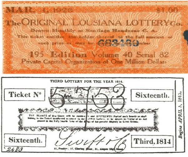 Old Lotto Tickets