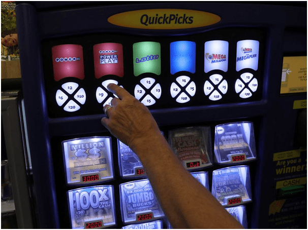 Where are lottery vending machines located near me
