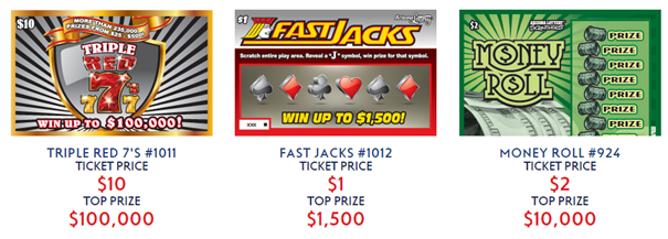 Lottery with Seven Jackpots- Play Arizona State Lottery