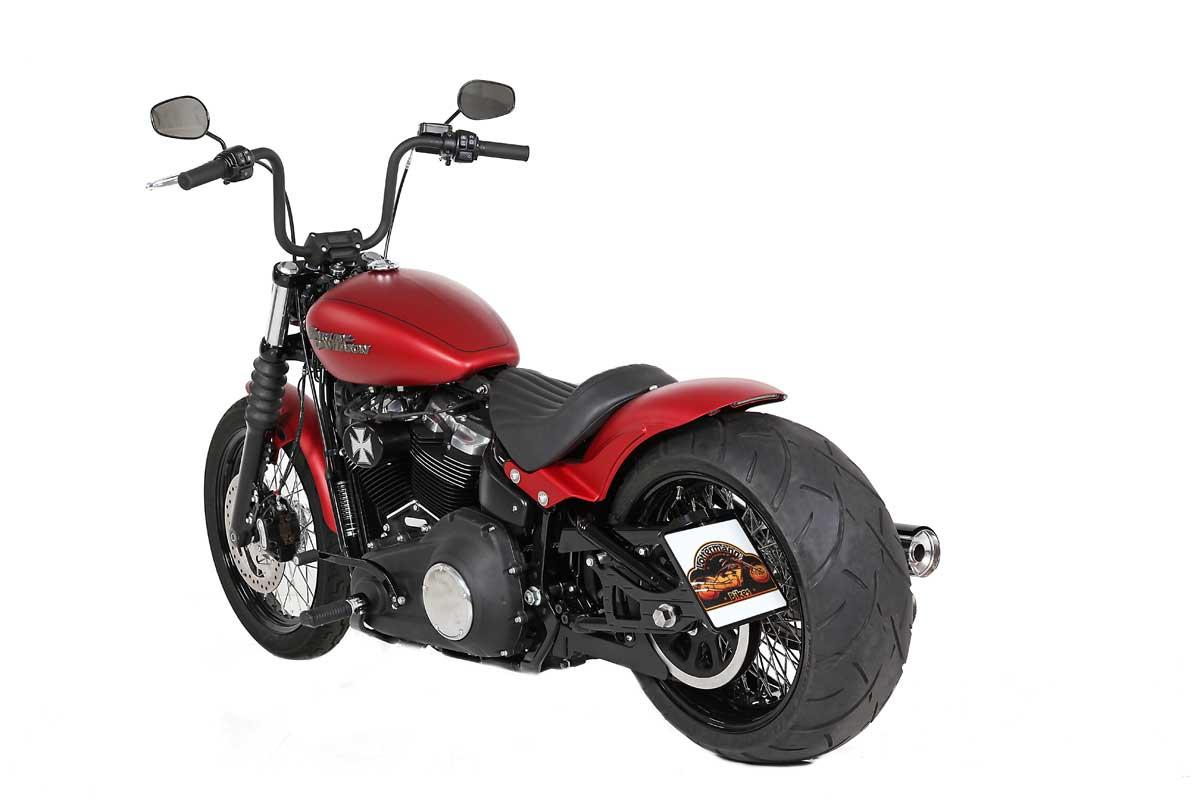 custombike based on basis fxbb street bob 2019