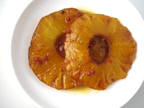 Tequila and lime baked pineapple, Cooking With Booze, you shouldn't have!