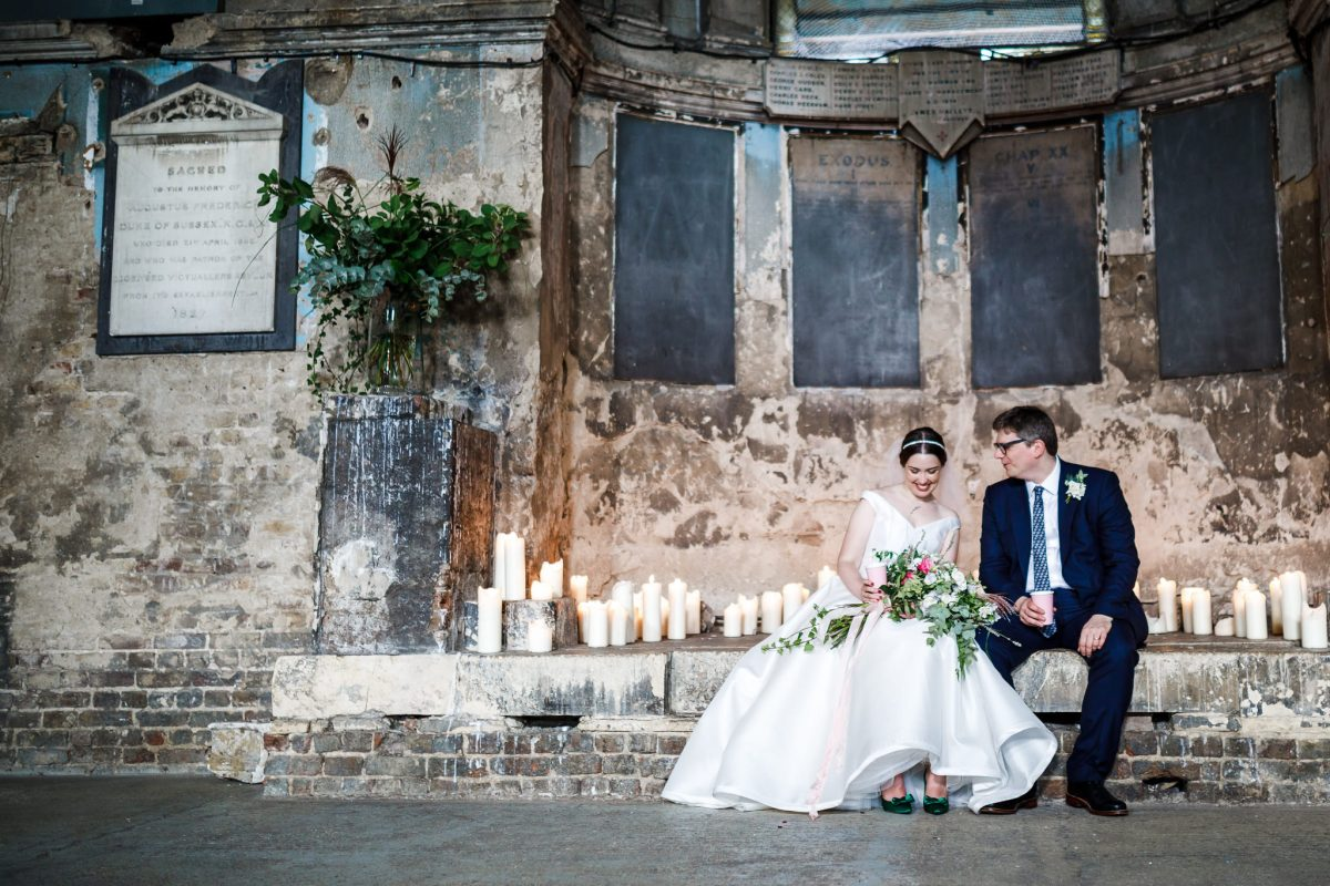 Relaxed wedding vibes at the Asylum in Peckham