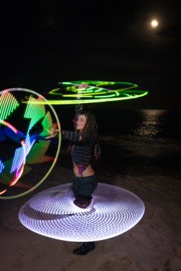 LED Hoop performer