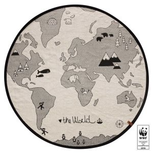 OYOY Spielteppich the WORLD RUG WWF