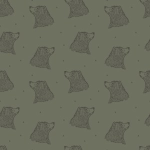 Bloome Copenhagen Bear Dusty Green