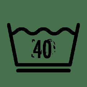 Waschen 40 °C (schonend)