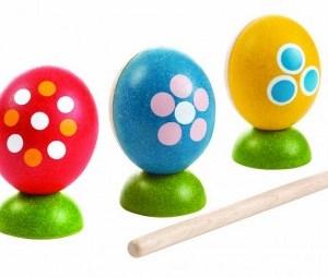 PLAN TOYS - Eierschlagzeug