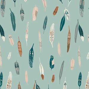 Art Gallery Fabrics - Capsules Campsite - Heather & Feathers