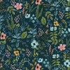 Cotton&Steel - Amalfi - Herb Garden Navy