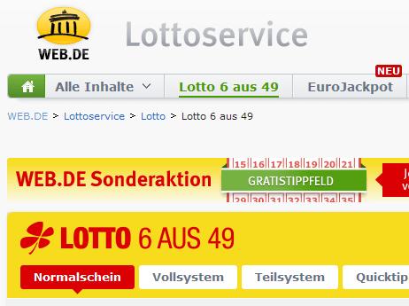 Web Lottoservice