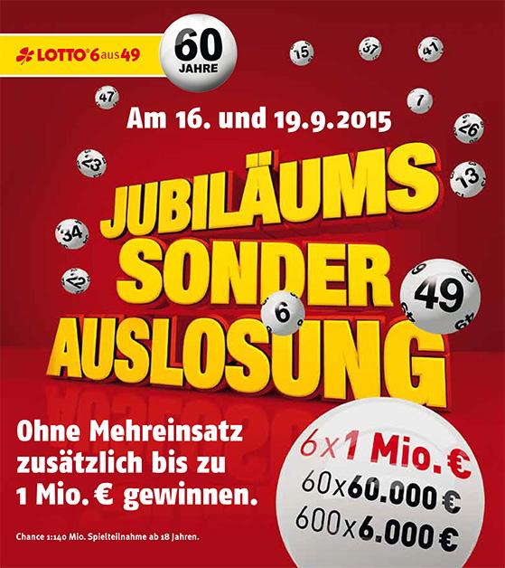 Lottosonderauslosung