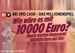 BILD Gewinnspiel Teaser August: Wie wäre es mit 10.000€?