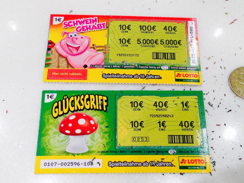 """""""Glücksgriff"""" und """"Schwein Gehabt!"""" geöffnet"""