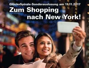 Glücksspirale Sonderauslosung am 11.11.2017 - Werbegrafik von Lotto Bayern
