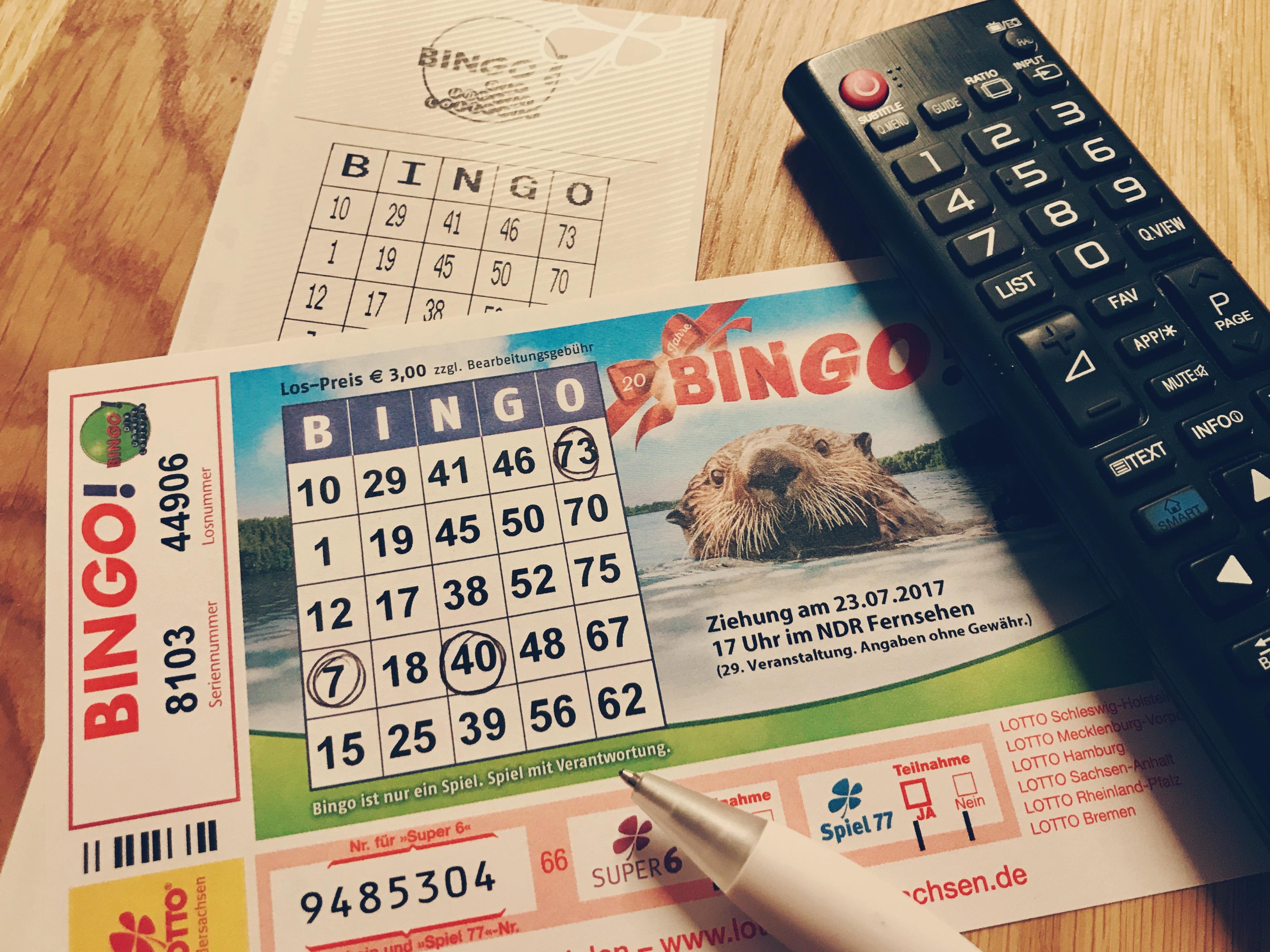 Bingo Ndr Lose